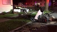 Sinh viên nước ngoài tử vong trong vụ tai nạn kinh hoàng khiến chiếc Chevrolet Corvette vỡ làm đôi
