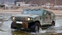 Bất ngờ với xe quân sự rất giống Humvee của Kia
