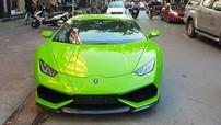 Sau Ferrari 360 Spider, doanh nhân Hải Phòng tậu tiếp siêu xe Lamborghini Huracan xanh cốm