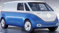 Volkswagen I.D. Buzz Cargo - Xe van điện tự lái hứa hẹn ra mắt thị trường năm 2021