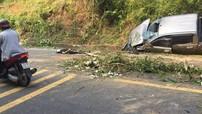 Hà Tĩnh: Xe bán tải Ford Ranger đâm vào vách núi, 1 người tử vong tại chỗ
