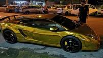 """Siêu xe hàng hiếm Lamborghini Gallardo LP550-2 MLE """"mạ vàng"""" tại Malaysia"""