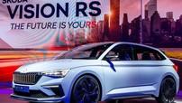 Skoda Vision RS - Mẫu concept hybrid đầy hứa hẹn ở triển lãm Paris 2018