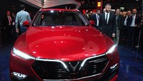 """David Beckham: """"Nội thất xe Vinfast rất tuyệt vời, thoải mái, bóng bẩy, hiện đại và được thiết kế riêng dành cho người Việt"""""""