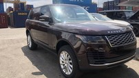 Range Rover HSE đời 2018 màu độc cập bến Việt Nam