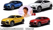 """Siêu SUV Lamborghini Urus mà Minh """"Nhựa"""" đặt mua mang ngoại thất màu gì?"""