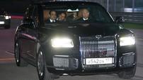 Tổng thống Vladimir Putin đích thân lái xe chở Tổng thống Ai Cập trên đường đua F1 của Nga