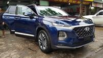 """Hyundai Santa Fe 2019 lần đầu tiên """"thả dáng"""" trên đường phố Hà Nội"""