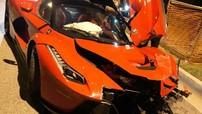 Siêu phẩm Ferrari LaFerrari cực hiếm và cực đắt đỏ gặp tai nạn nghiêm trọng ở Mỹ