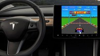 Thật khó tin, Tesla ra mắt phần mềm mới cho phép chơi game ngay trên xe