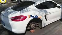 """Ăn trộm 4 bánh của Porsche Cayman để độ xe Mazda, nam thanh niên """"xộ khám"""""""
