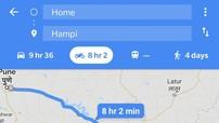 Đi xe máy không còn sợ lạc đường với tính năng mới của Google Maps