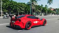 Bản độ siêu xe Ferrari F12 Berlinetta cực hiếm của doanh nhân Vũng Tàu lên báo nước ngoài