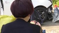 Nhấn nhầm chân ga, nữ tài xế thắc mắc vì sao càng phanh thì xe lại càng chạy nhanh