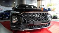 Soi kỹ Hyundai Santa Fe 2019 bản máy dầu đặc biệt được trưng bày tại đại lý