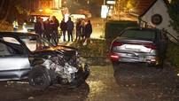 """Vụ tai nạn với Honda Civic cho thấy độ """"cứng"""" của xe sang Audi A8 thế hệ mới"""
