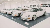"""Khám phá bộ sưu tập xe của """"fan cuồng"""" Porsche với khoảng 65 chiếc đủ chủng loại và toàn mang màu trắng"""