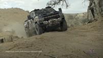 GM bất ngờ hé lộ thiết kế của xe bán tải quân sự Chevrolet Silverado ZH2