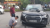 Thêm video vụ Audi Q5 gây tai nạn liên hoàn, đâm bẹp sườn Mercedes-Benz GLK ở Hà Nội