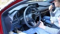 Mazda3 2019 bất ngờ lộ nội thất trên đường thử trước ngày ra mắt