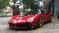 """Sau độ mâm Vossen, siêu xe Ferrari 488 GTB tại Sài thành chuẩn bị """"lột xác"""" qua bản độ Mansory độc nhất Việt Nam"""