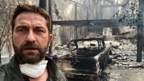 """Chiếc Ford Bronco của sao phim """"300"""" biến thành sắt vụn trong thảm họa cháy rừng tại California"""