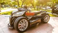 """Mãn nhãn với """"siêu xe"""" Lazareth Wazuma phiên bản Việt Nam độ lên từ Honda CBR1000RR"""