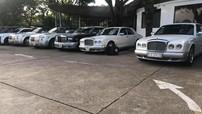 Dàn xe siêu sang của Chủ tịch Trung Nguyên bất ngờ được trưng bày tại làng cà phê ở Buôn Ma Thuột