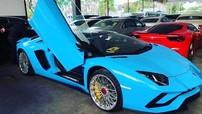 """Siêu xe Lamborghini Aventador S mui trần đầu tiên cập bến Campuchia, đại gia Việt lại """"phát thèm"""""""