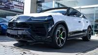 Cảm nhận nhanh siêu SUV Lamborghini Urus mới cập bến Campuchia: Nổi bật từ gam màu xanh chuối