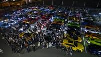 """""""Ngày Lamborghini Nhật Bản"""" chứng kiến 200 chiếc siêu xe tụ tập ăn mừng Lamborghini Aventador SVJ ra mắt"""