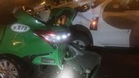 Bình Định: Đứng chụp ảnh hiện trường tai nạn, nhân viên bảo hiểm bị chiếc Honda Civic đâm trúng