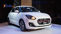 Cảm nhận nhanh Suzuki Swift 2018: Thiết kế thời trang nhưng trang bị chưa nổi bật