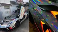 """Lamborghini Aventador độ body kit bản giới hạn Liberty Walk gần 3 tỷ đồng """"lột xác"""" qua bộ áo mới"""