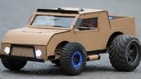 Chỉ mất 12 phút để bạn học cách chế tạo một chiếc xe bằng bìa cứng với đèn LED