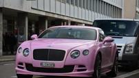 Bentley Continental GT Speed 2015 phiên bản màu hồng nữ tính