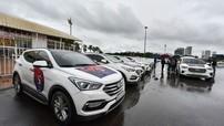 Hơn 180 xe Hyundai Santa Fe tề tựu về Hà Nội dự sinh nhật lần thứ 5 của VSFC