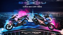 Yamaha NVX 155 và Yamaha Exciter 150 có phiên bản màu mới cực bắt mắt và cá tính