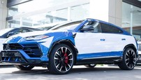 Đại gia Campuchia chạy đua mua sắm Lamborghini Urus, chiếc thứ 5 đã xuất hiện với bộ áo xanh Blu Eleos