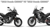 """Có gì khác biệt giữa """"xế phượt"""" Honda CB500X phiên bản cũ và mới?"""