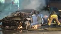 Kỳ lạ chiếc Tesla Model S tự bốc cháy 2 lần trong cùng một ngày