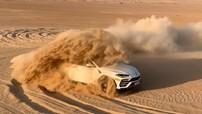 Dùng siêu xe Lamborghini Urus để drift trên sa mạc: Chỉ có thể là nhà giàu Ả-Rập