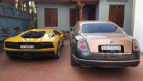 Cặp đôi siêu xe và xe siêu sang hơn 100 tỷ đồng về quê nhà tại làng gốm Hải Dương