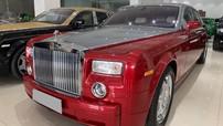 Rao bán Rolls-Royce Phantom sang chảnh với bộ áo đỏ rực hàng hiếm cho các đại gia Việt