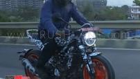 Sau KTM 390 Adventure, phiên bản thử nghiệm Husqvarna Vitpilen 401 tiếp tục xuất hiện tại Ấn Độ