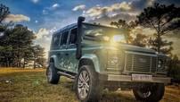 Chiếc ô tô xuất hiện trong ảnh cưới của rapper Tiến Đạt chính là Land Rover Defender phiên bản cuối cùng