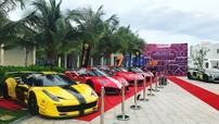 """Cặp đôi siêu xe độ cực """"khủng"""" của doanh nhân Vũng Tàu họp mặt với 5 chiếc siêu xe tại Sài thành"""