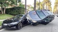 Vụ tai nạn này chứng minh độ bền của kính cửa sổ trên Tesla Model S