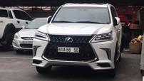"""Lexus LX570 Super Sport 2018 thứ 3 ra """"hộ khẩu"""" tại Bình Dương mang biển cặp 56 đẹp mắt"""