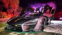 """Chủ nhân của McLaren Senna bị """"hóa vàng"""" trong ngày cuối năm 2018 lên tiếng, khẳng định xe tự dưng cháy"""